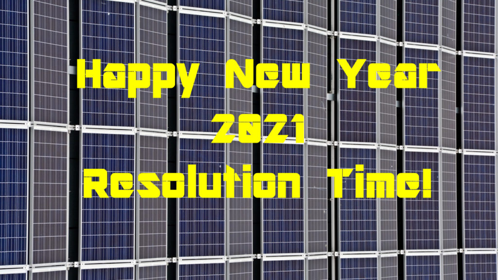 Make solar conversion your 2021 resolution!