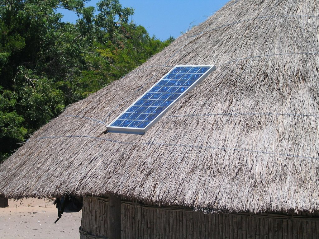the world is transitioning to solar power